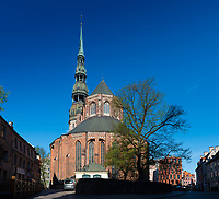 St Peter's Church, Riga, Latvia