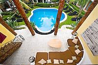 A- Mosquito Blue Hotel, Playa del Carmen Mexico 6 12