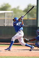 Geulin Beltre - Kansas City Royals, 2009 Instructional League.Photo by:  Bill Mitchell/Four Seam Images..