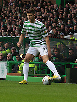 Charlie Mulgrew in the Celtic v St Mirren Clydesdale Bank Scottish Premier League match played at Celtic Park, Glasgow on 15.12.12.