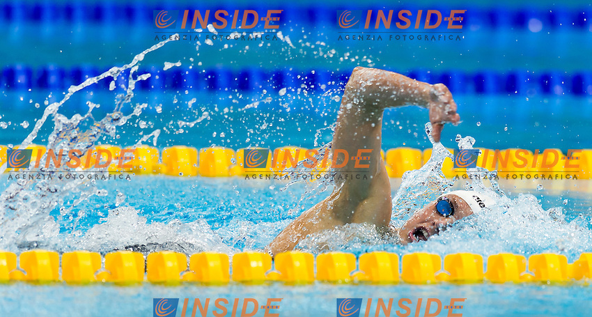 HOSSZU Katinka HUN<br /> London, Queen Elizabeth II Olympic Park Pool <br /> LEN 2016 European Aquatics Elite Championships <br /> Swimming<br /> Woen's 200m medley semifinal  <br /> Day 10 18-05-2016<br /> Photo Giorgio Perottino/Deepbluemedia/Insidefoto
