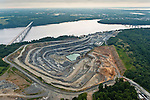Lancaster County, Pennsylvania. Susquehanna River and Quarry, Pennsylvania.