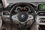 Car pictures of steering wheel view of a 2016 BMW 7-Reeks-Berline 4 Door Sedan Steering Wheel