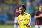 Borussia Dortmund Forward Pierre-Emerick Aubameyang gestures during the International Champions Cup 2017 match between AC Milan vs Borussia Dortmund at University Town Sports Centre Stadium on July 18, 2017 in Guangzhou, China. Photo by Marcio Rodrigo Machado / Power Sport Images