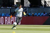 San Jose, CA - Saturday July 29, 2017: David Bingham prior to a Major League Soccer (MLS) match between the San Jose Earthquakes and Colorado Rapids at Avaya Stadium.