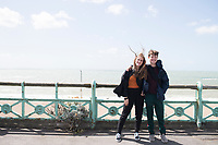 Day trip to Brighton from London with Felix, Gabriela and Annuska.  Brighton, UK