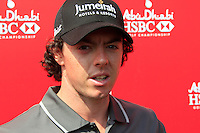 Rory McIlroy (NIR) after finishing his match during Thursday's Round 1 of the HSBC Golf Championship at the Abu Dhabi Golf Club, United Arab Emirates, 26th January 2012 (Photo Eoin Clarke/www.golffile.ie)
