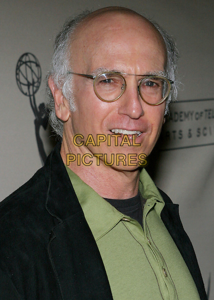 "LARRY DAVID.The Academy of Television & Sciences Activities Committee presents An Evening with ""Curb Your Enthusiasm"" held at the Academy's Leonard H. Goldenson Theatre, North Hollywood, California..USA, United States.9th November 2005.Ref:ADM/ZL.portrait headshot eye contact posed.www.capitalpictures.com.sales@capitalpictures.com.© Capital Pictures.."