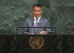 72 General Debate &ndash; 22 September <br /> <br /> Mongolia
