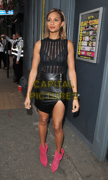 LONDON, ENGLAND - JULY 23: Alesha Dixon attends the RUComingOut.com summer party, Royal Vauxhall Tavern, Kennington Lane, on Thursday July 23, 2015 in London, England, UK.  <br /> CAP/CAN<br /> &copy;Can Nguyen/Capital Pictures