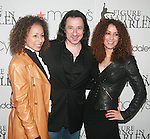 Tamra Tunie, Federico Castelluccio and Yvonne Maria Schaefer attend The 2011 Figure Skating in Harlem - Skating with the Stars Honoring Tina and Terry Lundgren, Sarah Hughes and Lola C. West at the Wollman Rink, NY 4/4/11