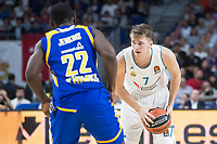 Real Madrid Luka Doncic and Khimki Moscow Charles Jenkins during Turkish Airlines Euroleague match between Real Madrid and Khimki Moscow at Wizink Center in Madrid, Spain. November 02, 2017. (ALTERPHOTOS/Borja B.Hojas) /NortePhoto.com