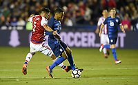 Cary, N.C. - Tuesday March 27, 2018: Bruno Valdéz, Tyler Adams during an International friendly game between the men's national teams of the United States (USA) and Paraguay (PAR) at Sahlen's Stadium at WakeMed Soccer Park.