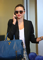 Miranda Kerr at JFK airport - New York