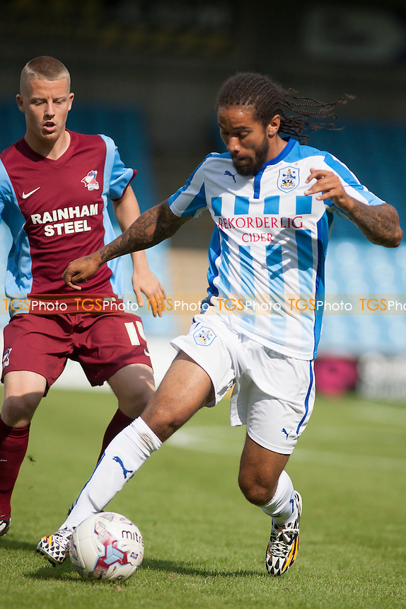 Sean Scannell of Huddersfield Town<br />  - Scunthorpe United vs Huddersfield Town - Pre-Season Friendly Football Match at Glanford Park, Scunthorpe - 26/07/14 - MANDATORY CREDIT: Mark Hodsman/TGSPHOTO - Self billing applies where appropriate - contact@tgsphoto.co.uk - NO UNPAID USE<br />   i