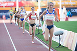 Wales Melissa Courtney in action during the Woman's 5000m <br /> <br /> *This image must be credited to Ian Cook Sportingwales and can only be used in conjunction with this event only*<br /> <br /> 21st Commonwealth Games - Athletics - Day 10 - 14\04\2018 - Carrara Stadium  - Gold Coast City - Australia
