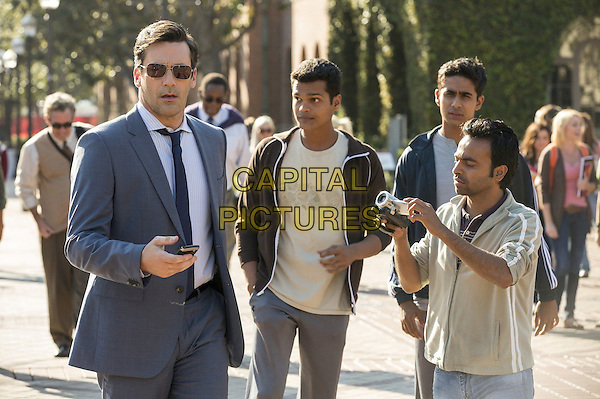 Jon Hamm, Madhur Mittal, Suraj Sharma, Pitobash Tripathy<br /> in Million Dollar Arm (2014) <br /> *Filmstill - Editorial Use Only*<br /> CAP/FB<br /> Image supplied by Capital Pictures
