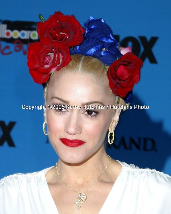 Gwen Stefani.2005 Billboard Awards.MGM Garden Arena.Las Vegas, NV.December 6, 2005.©2005 Kathy Hutchins / Hutchins Photo....