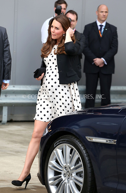 WWW.ACEPIXS.COM....US Sales Only....April 26 2013, Leavesden, England......Kate Middleton, Catherine, Duchess of Cambridge at the Inauguration of Warner Bros. Studios on April 26 2013 in Leavesden, England......By Line: Famous/ACE Pictures......ACE Pictures, Inc...tel: 646 769 0430..Email: info@acepixs.com..www.acepixs.com