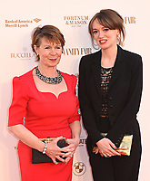 Celia Imrie, Lucy Briggs-Owen at The Old Vic Bicentenary Ball held at The Old Vic, The Cut, Lambeth, London, England, UK on Sunday13 May 2018.<br /> CAP/MV<br /> &copy;Matilda Vee/Capital Pictures