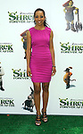 "UNIVERSAL CITY, CA. - May 16: Shaun Robinson arrives at the ""Shrek Forever After"" Los Angeles Premiere at Gibson Amphitheatre on May 16, 2010 in Universal City, California."