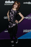 CULVER CITY, LOS ANGELES, CA, USA - FEBRUARY 27: Lindsey Stirling at the 1st Annual unite4:humanity Presented by unite4:good and Variety held at Sony Pictures Studios on February 27, 2014 in Culver City, Los Angeles, California, United States. (Photo by Xavier Collin/Celebrity Monitor)