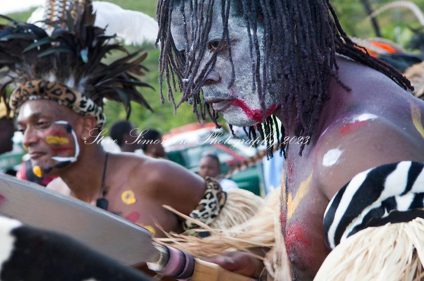St. John Carnival 07/04/2008.Cruz Bay, St. John.U.S. Virgin Islands