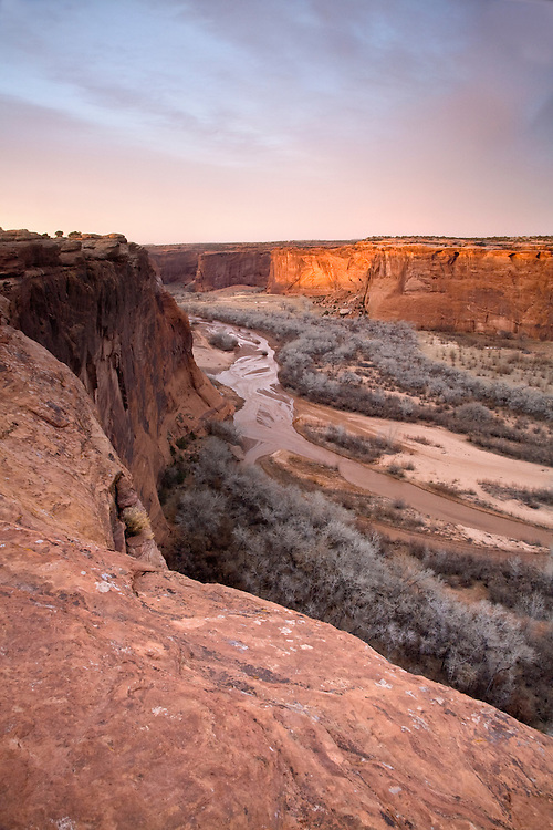 Sunset over Canyon de Chelly from Tsegi Overlook
