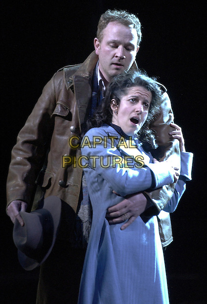 "PETER WEDD & MARY PLAZAS..(Rodolfo & Mimi)..""La Boheme"" at the Royal Albert Hall..London 25 February 2004..www.capitalpictures.com..sales@capitalpictures.com..©Capital Pictures"