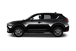 Car driver side profile view of a 2017 Mazda CX-5 Sport 5 Door SUV