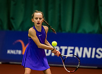 Wateringen, The Netherlands, November 27 2019, De Rhijenhof , NOJK 12/16 years, Dallas Janssen (NED)<br /> Photo: www.tennisimages.com/Henk Koster