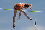 May 18, 2008 - Boulder, CO.   Texas' Maston Wallace wins the Pole Vault at the 2008 Big 12 Conference Track & Field Championships.  ...Larry Clouse/CSM