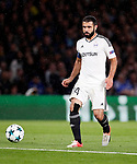 Qarabag's Rashad F Sadygov in action during the champions league match at Stamford Bridge Stadium, London. Picture date 12th September 2017. Picture credit should read: David Klein/Sportimage