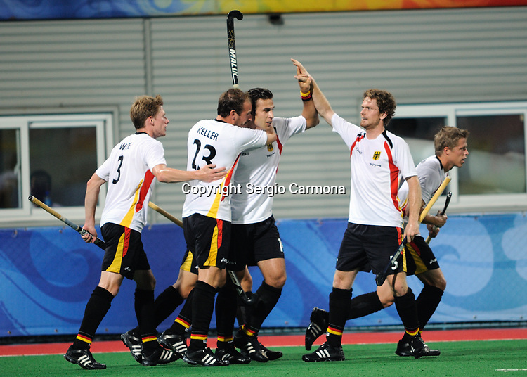Olympic Games 2008; Hockey - Mens final: ESP vs. GER.