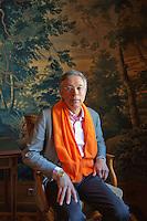 April 17, 2015, Netherlands, Den Bosch, Cityhall, Fedcup Netherlands-Australia,  Dutch president of the KNLTB Rolf Thung <br /> Photo: Tennisimages/Henk Koster