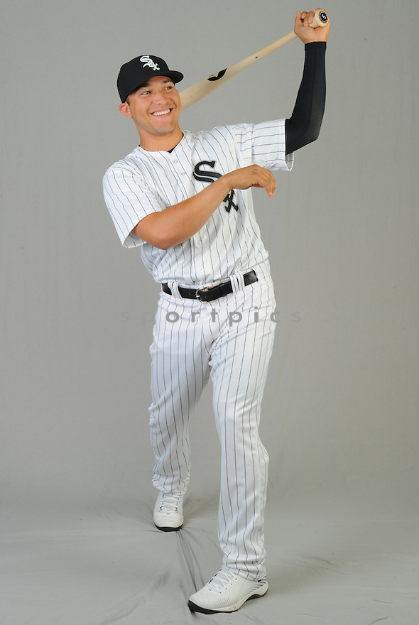 Chicago White Sox Carlos Sanchez (5) during photo day on February 28, 2015 in Glendale, AZ.