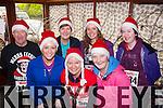 Run For support<br /> --------------------<br />  Taking  park in the 'Run Rudolf Run'  5km jog around Castleisland last Sunday morning organised by An Riocht Athletic Club,in memory of Donal Curtin were (front) L-R Mary Barrett,N&oacute;ir&iacute;n U&iacute; Chathasaigh&amp;Maire Ui Bhrolchain (back) L-R George Glover,Teresa O'Leary,Alison Doody&amp;Maura Bradley