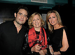 As The World Turns Elizabeth Hubbard with son Jeremy Bennett & Martha Bryne - Weight: The Series held its premiere party on October 8, 2014 at Galway Pub, New York City, New York. (Photo by Sue Coflin/Max Photos)