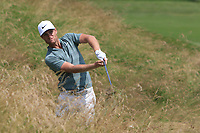 Lucas Bjerregaard (DEN) in the rough on the 12th during Round 3 of the HNA Open De France at Le Golf National in Saint-Quentin-En-Yvelines, Paris, France on Saturday 30th June 2018.<br /> Picture:  Thos Caffrey | Golffile