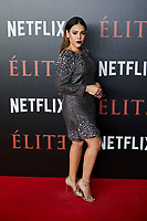 Danna Paola attends to 'Elite' premiere at Museo Reina Sofia in Madrid, Spain. October 02, 2018. (ALTERPHOTOS/A. Perez Meca) /NortePhoto.com NORTEPHOTOMEXICO