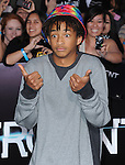 Jaden Smith attends The L.A. Premiere of DIVERGENT held at The Regency Bruin Theatre in West Hollywood, California on March 18,2014                                                                               © 2014 Hollywood Press Agency