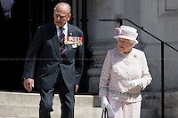 Her Majesty the Queen Elizabeth II and the Duke of Edinburgh.<br />