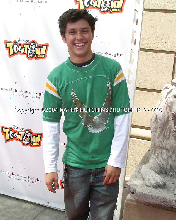 ©2004 KATHY HUTCHINS /HUTCHINS PHOTO.DISNEY'S TOONTOWN TAKES HOLLYWOOD.HOLLYWOOD, CA.AUGUST 21, 2004..RICKY ULLMAN