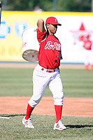 May 29th 2008:  Antonio Bastardo of the Reading Phillies, Class-AA affiliate of the Philadelphia Phillies, during a game at Jerry Uht Park in Erie, PA.  Photo by:  Mike Janes/Four Seam Images