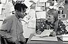 Advice service for teenage boy, Nottingham, UK 1990s