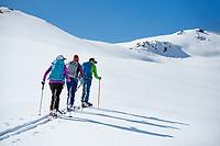 Ski touring in the Suusamyr region of Kyrgyzstan