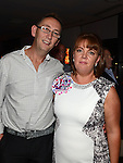 Fiona Cluskey celebrating her 40th birthday in Brú with husband Sean. Photo:Colin Bell/pressphotos.ie