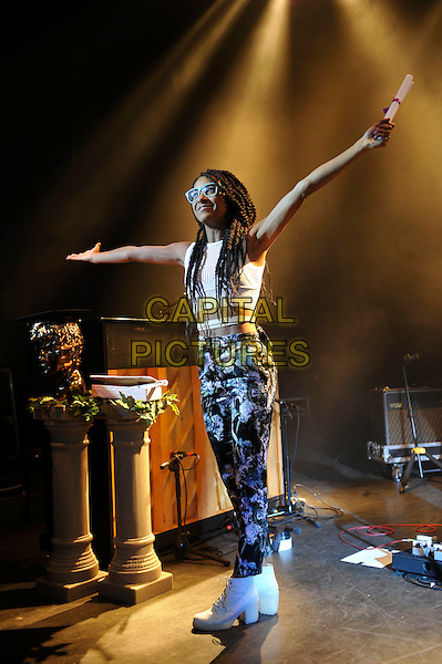 LONDON, ENGLAND - NOVEMBER 2: Esperanza Spalding performing at Shepherd's Bush Empire on November 2, 2015 in London, England.<br /> CAP/MAR<br /> &copy; Martin Harris/Capital Pictures