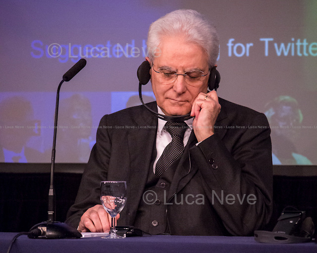 London, 28/05/2015. Today, the LSE (London School of Economics and Political Studies) European Institute presented a public lecture called &quot;The Case for Europe: the Italian vision&quot; hosted by the President of the Italian Republic Sergio Mattarella (Italian Politician, lawyer and judge; he is the 12th President of the Italian Republic; he was a member of Parliament from 1983 to 2008 elected for the Christian Democracy Party in the western Sicily constituency; he served as Minister of Education from 1989 to 1990, as Deputy Prime Minister of Italy from 1998 to 1999 and as Minister of Defence from 1999 to 2001. In 2011, he became an elected judge on the Constitutional Court). Chairs of the event were Paul Kelly (Pro-Director at LSE, Professor of Political Philosophy at LSE, and Head of the Department of Government) and Maurice Fraser (Senior Fellow in European Politics at LSE, Director Agora Projects - publishing. Senior Counselor, APCO Worldwide. Special Adviser to UK Foreign Secretaries Douglas Hurd, John Major and Sir Geoffrey Howe, 1989 - 1995).<br />  <br /> Here there is the link to the podcast to listen the lecture: http://bit.ly/1FlfM9V