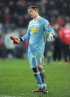 FUSSBALL   1. BUNDESLIGA  SAISON 2011/2012   16. Spieltag FC Augsburg - Borussia Moenchengladbach            10.12.2011 Marc Andre ter Stegen (Borussia Moenchengladbach)